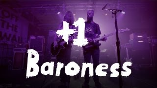 "Baroness perform ""March to the Sea"" at House of Vans +1"