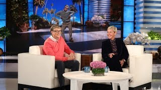 Bill Gates Chats with Ellen for the First Time - dooclip.me