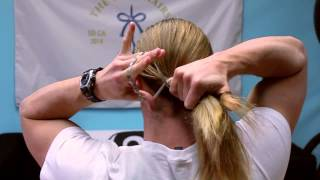 How to Tie Your Long Hair - For Guys
