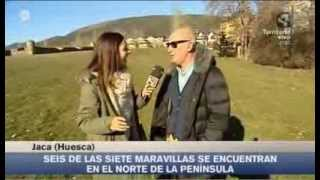preview picture of video 'La ciudadela de Jaca, 2ª maravilla rural de España | Marta López | Aragón en Abierto'