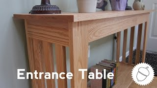 How To Make An Entrance Table!