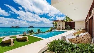 Hawaii Luxury Villa 18.5 Million Dollars - Hawaiian Luxury Rentals - Lanikai Hillside Estate