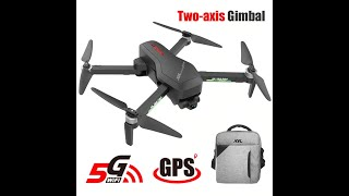 Hipac SG906 Pro Drone 4k GPS with Camera 2 axis Gimbal Brushless Profissional 800M Wifi 25Mins RC Dr