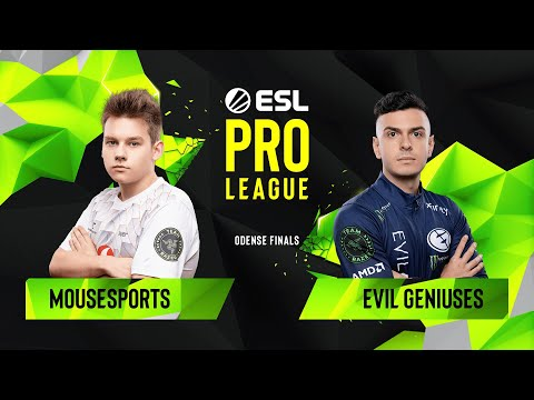 CS:GO - Evil Geniuses vs. mousesports [Nuke] Map 3 - Quarterfinals - ESL Pro League Season 10 Finals