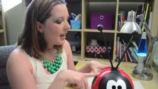DIY Ladybug Bowling Ball