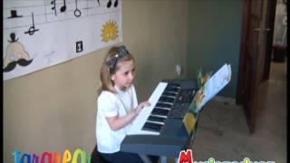 Caramelo chiquitito - Mi Teclado 1 - Tararea Laboratorio Musical
