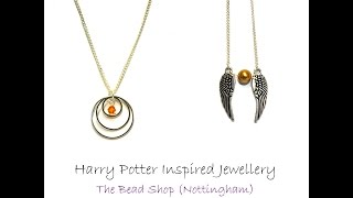 Harry Potter Inspired Necklaces: DIY