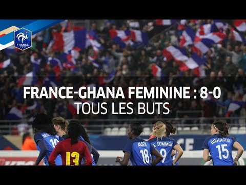 Video: Watch how France whipped Ghana 8-0 on Monday