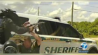 Deadly shootout captured on dashcam