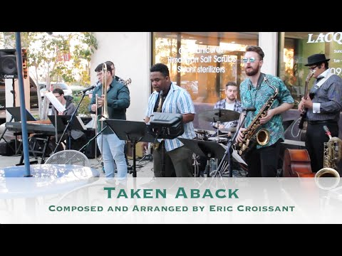"""Taken Aback"" is an original 'Funk-Jazz' fusion song by Eric Croissant, from his album ""ColorsAround."""