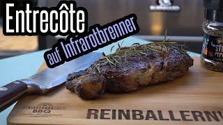 Entrecôte / Rib-Eye auf dem Gasgrill mit Infrarotbrenner & Sear Grate - BBQ & Grillen für jedermann