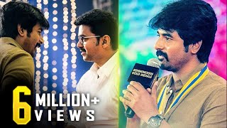 """""""I never got an opportunity to tell this to Vijay Sir"""" - Sivakarthikeyan Opens Up"""