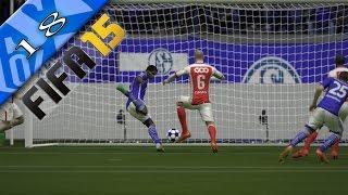 preview picture of video 'Let's Play FIFA 15 Trainerkarriere [Deutsch/HD] #018 - FC Schalke 04 - Das Achtelfinale rückt näher'