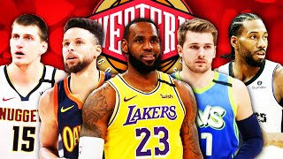 NBA 2021 All-Star Full Roster Predictions - Western Conference | LeBron James | Stephen Curry