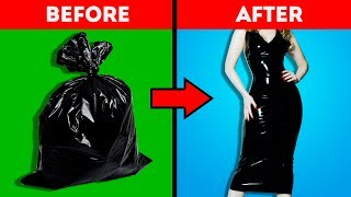 22 HACKS TO RECYCLE GARBAGE INTO SOMETHING COOL