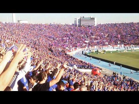 """""""Himno de la U contra San Luis LOS DE ABAJO"""" Barra: Los de Abajo • Club: Universidad de Chile - La U"""