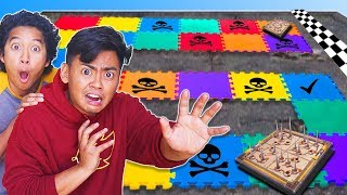 Ultimate GIANT BOARD Game - Challenge for $50,000 (ft. @Marlin)