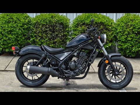 2017 Honda Rebel 300 ABS Review of Specs | Motorcycle / Cruiser Walk-Around | CMX300AH