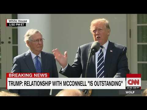 Trump, McConnell speak from Rose Garden (full)