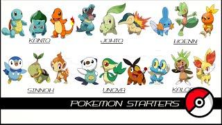 All Pokemon Starters (最初のポケモン)