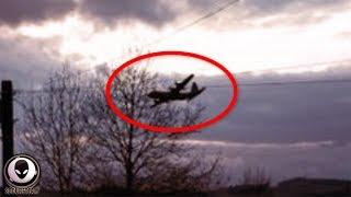 "SILENT ""Ghost Plane"" Spooks UK Residents.."