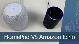 El HomePod y el Amazon Echo cara a cara