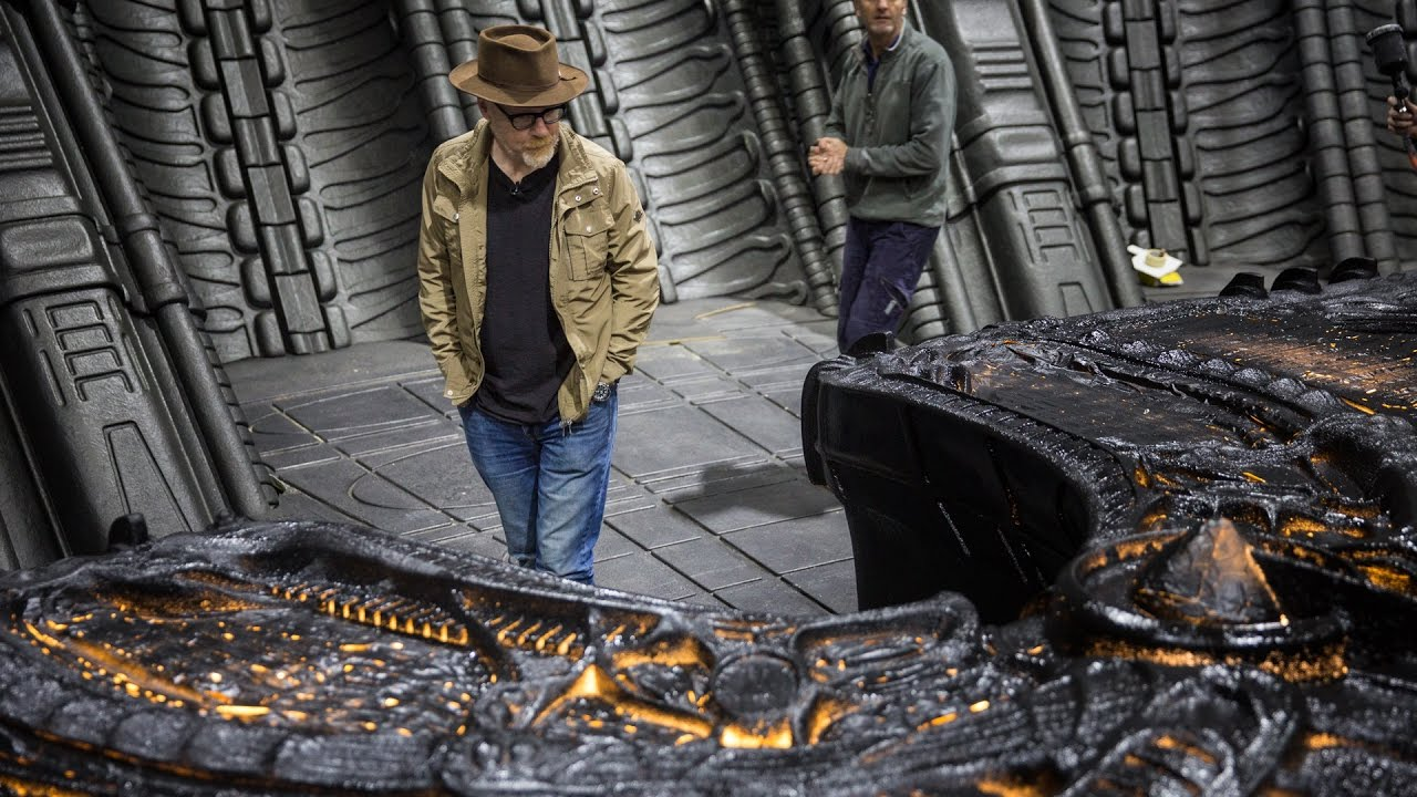 Adam Savage Behind the Scenes of Alien: Covenant