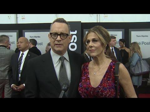 Hanks celebrates the free press