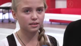 Софья Фисенко - Интервью после СП - Голос.Дети - Сезон1