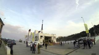 preview picture of video 'Sagra del Totano di Capraia 2013. Day -1. Arrivo del traghetto'