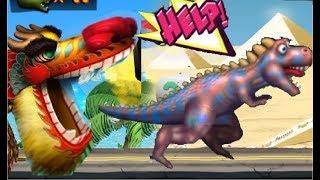 Zombie Tsunami #126 ЮРСКИЙ ПЕРИОД открыли новый вид Игровой мультик для детей ЗОМБИ ЦУНАМИ
