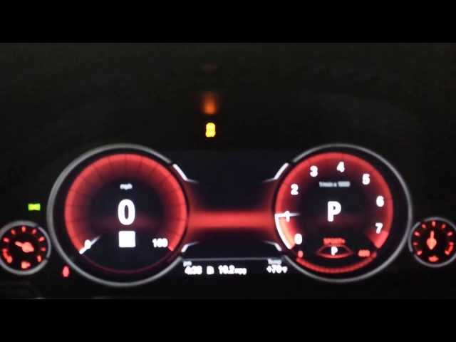 Bmw-all-digital-intrument-gauge