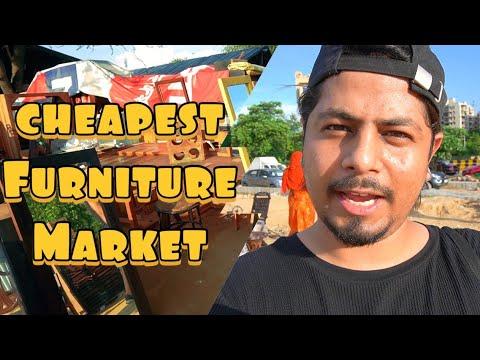 BANJARA MARKET - THE CHEAPEST FURNITURE  MARKET | Vlog 125