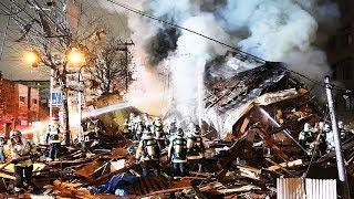 12月16日午後8時半ごろ、札幌市豊平区平岸3条8丁目の飲食店付近で爆発があったと周辺住民から119番通報があった。北海道警と札幌市消防局によると、建物が倒壊、炎上し、けが人が複数いるとの情報がある。周辺の建物も破損しているとみられる。