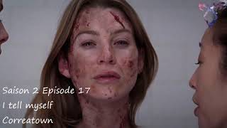 Grey's anatomy S2E17 - I tell myself - Correatown
