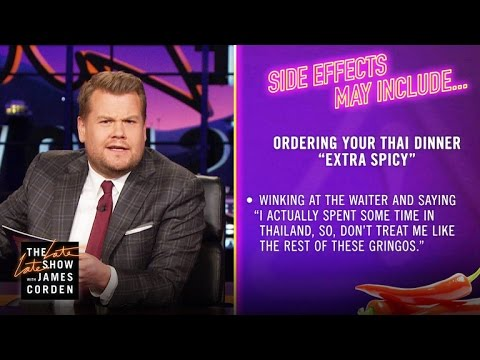 Side Effects May Include: Spicy Thai Food