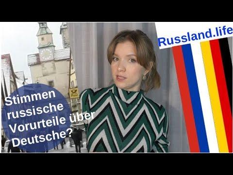 Stimmen russische Vorurteile über Deutsche? [Video]