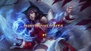 Ahri Highlights - Ahri vs Zed Matchup