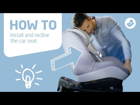 Maxi-Cosi   Pearl Pro i-Size & Pearl Pro 2   How to install and recline the car seat