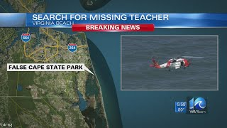 Teacher Missing Off False Cape State Park After Helping Student Struggling In The Water