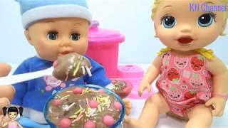 ChiChi ToysReview TV - Trò Chơi máy làm kem siêu tốc