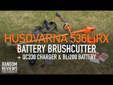 Best Battery Brushcutter? Husqvarna 536LiRX Battery Brushcutter Review