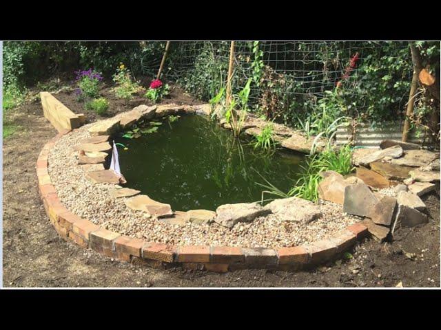 TIMELAPSE Garden Pond Build