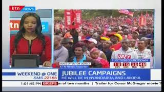 President Uhuru leads campaigns in Nyandarua County