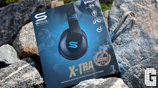 BEST WORKOUT HEADPHONES! : Soul X-TRA Wireless REVIEW!