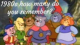 Classic cartoons 80s |  theme songs part 1