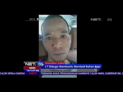 Rabu Pagi Densus 88 Polri  Menangkap Pria Terduga Teroris di Payakumbuh Sumatera Barat - NET16