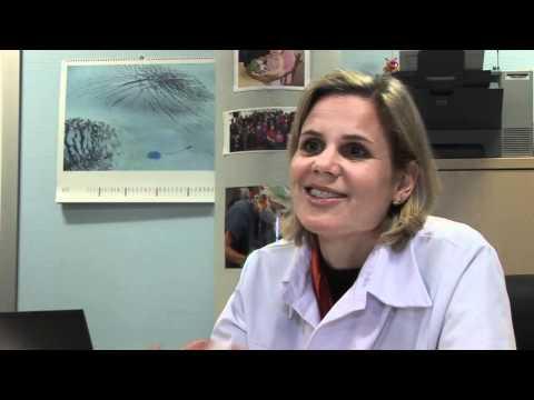 Les oeufs des parasites dans lanus