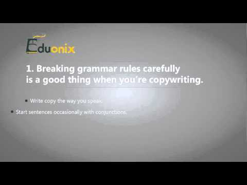 Knowing the Difference Between Good Writing and Good Copywriting
