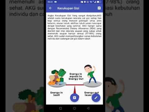 Demo Aplikasi GiziKu KKN
